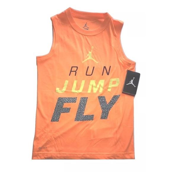 c4ee092dbbf Nike Shirts & Tops | Air Jordan Jump Man Boys Muscle Tank Top | Poshmark